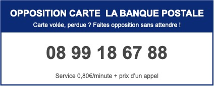 numero-opposition-banque-postale